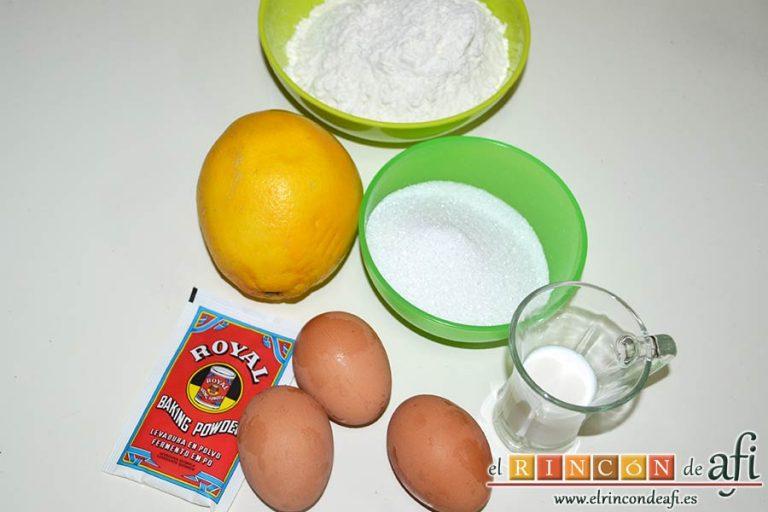 Buñuelos de naranja, preparar los ingredientes