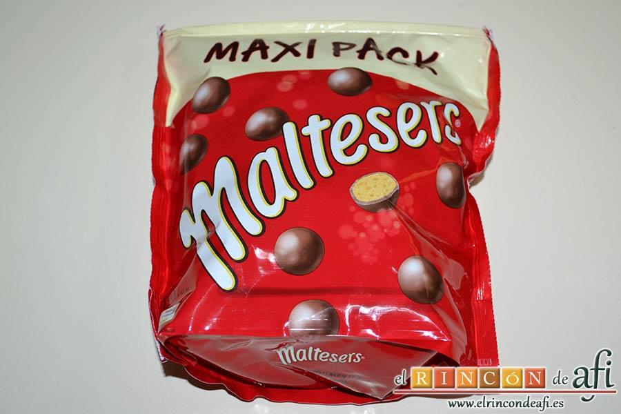Mousse de Maltesers, preparar los Maltesers