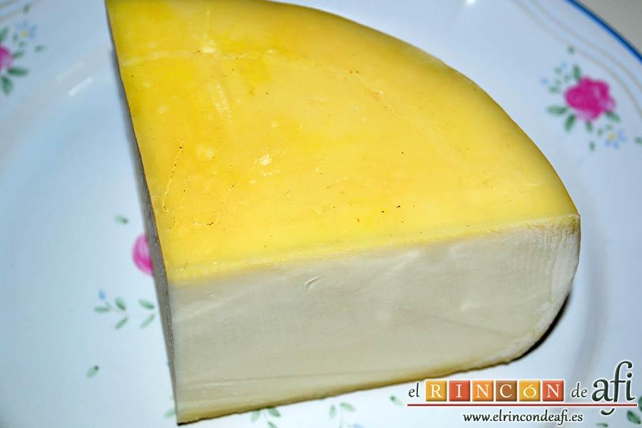 Queso en carroza, preparar el queso
