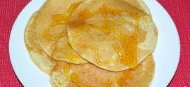 Tortitas con sirope de arce