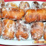 Xuxos rellenos de crema pastelera
