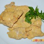 Filetes de cerdo con mostaza