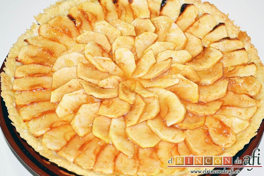 como hacer torta de manzana casera