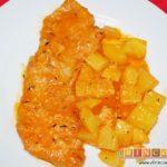 Filetes de cerdo en salsa