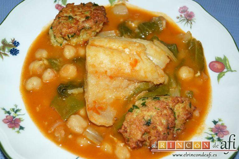 Tortillitas de San José, sugerencia de presentación