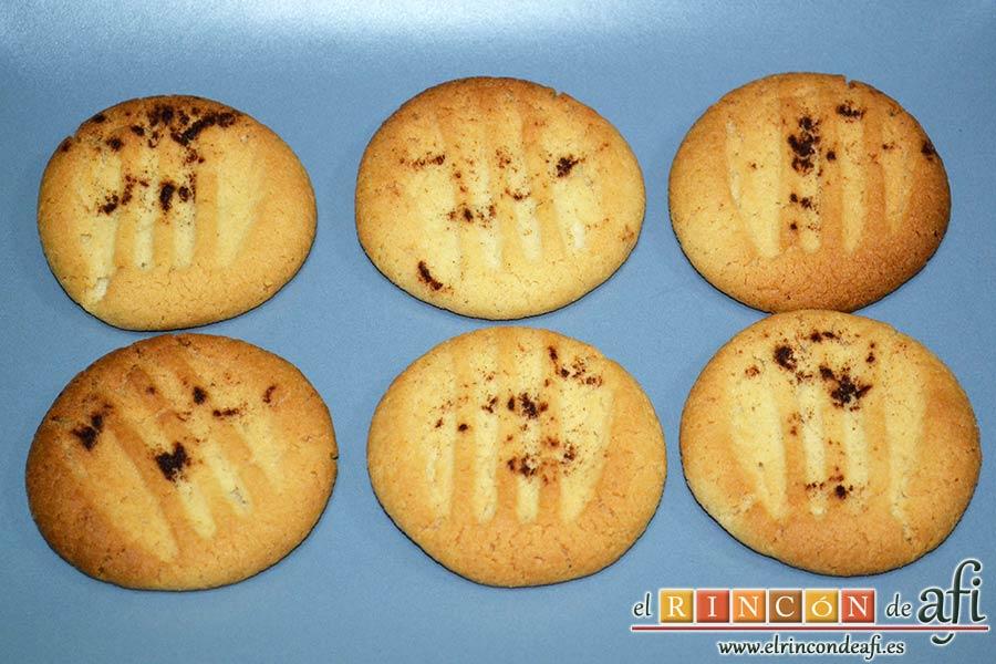 Galletas de pasta de sésamo