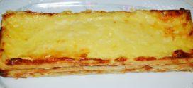 Croque cake de jamón y queso