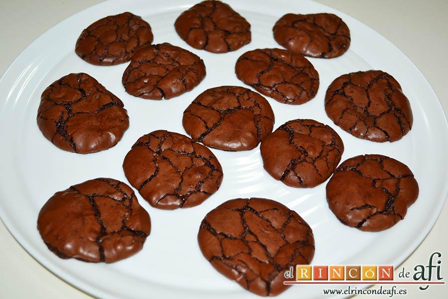 Cookies de chocolate brownie