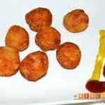 Croquetas de pollo y bacon