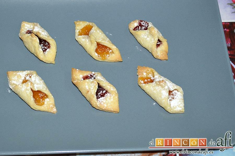 Pajaritas de galleta, sugerencia de presentación