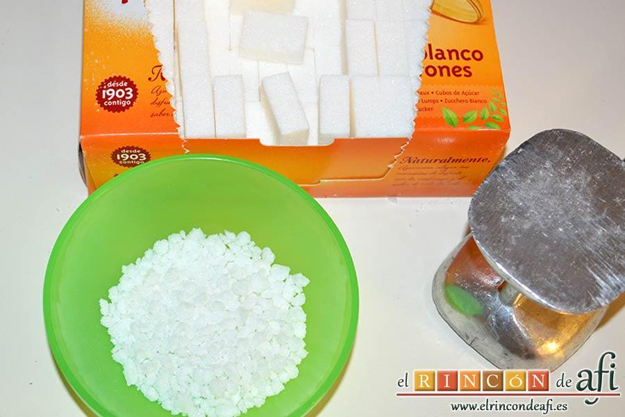 Galletas de mantequilla al chocolate, si no encuentras azúcar perlada puedes partir terrones