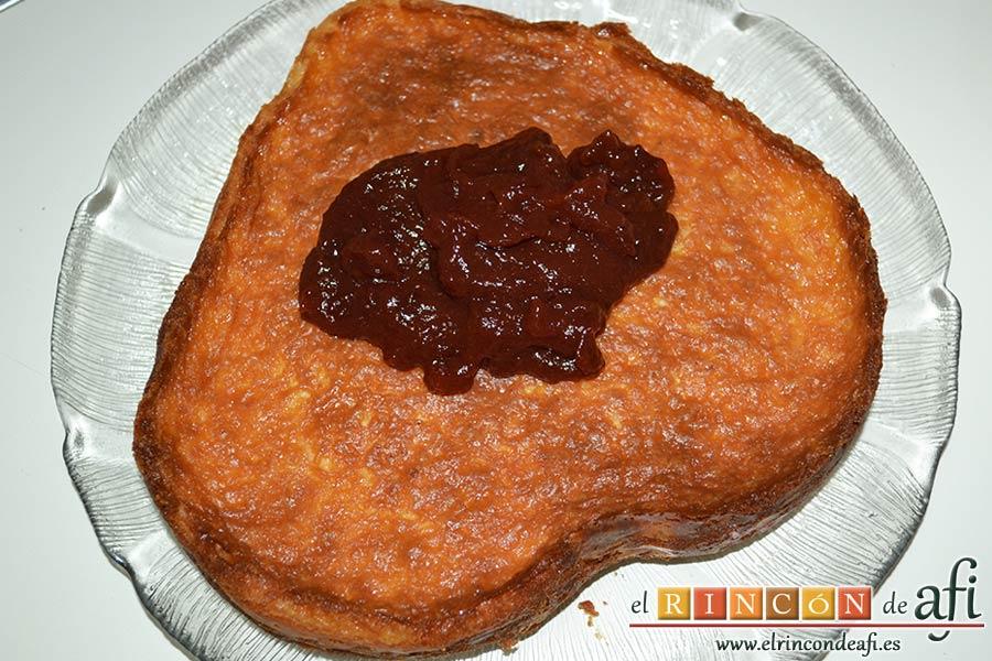 Tarta de queso con harina de fécula de maíz y mermelada de ciruelas rojas casera, entender la mermelada
