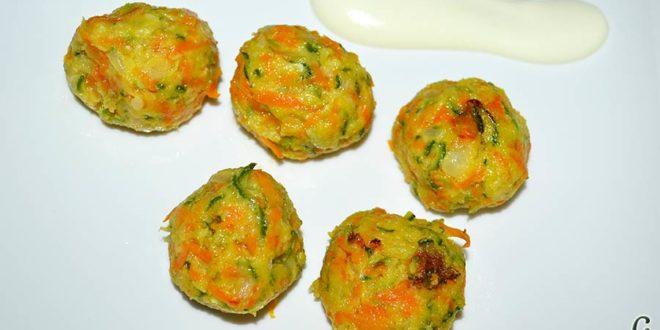 Albóndigas de verduras