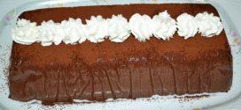 Pastel de chocolate japonés