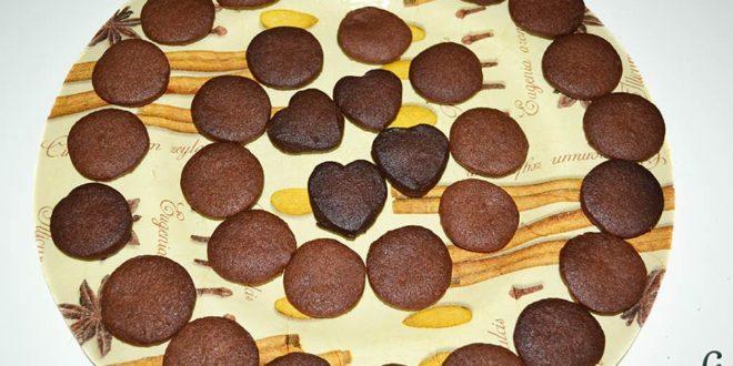 Galletas de chocolate y mantequilla
