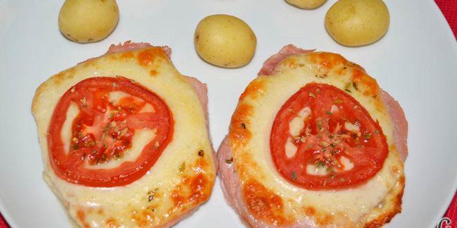 Chuletas de Sajonia al horno