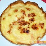 Pastel de tortillas con huevos