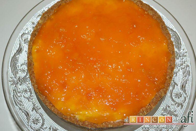 Tarta de Ricotta, refrigerar hasta el momento de consumir