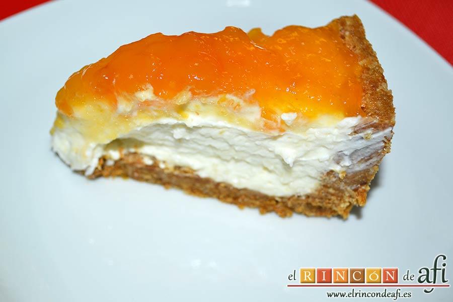 Tarta de Ricotta, sugerencia de presentación