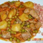 Estofado de solomillo de cerdo estilo Afi