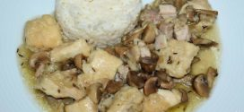 Estofado de pechuga de pollo con cerveza artesana