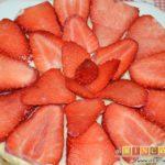 Shortbread de fresas con crema pastelera
