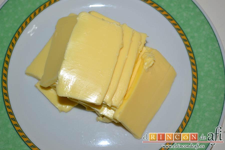 Shortbread de fresas con crema pastelera, preparar la mantequilla en pomada