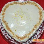 Tarta de limón con galletas sin horno