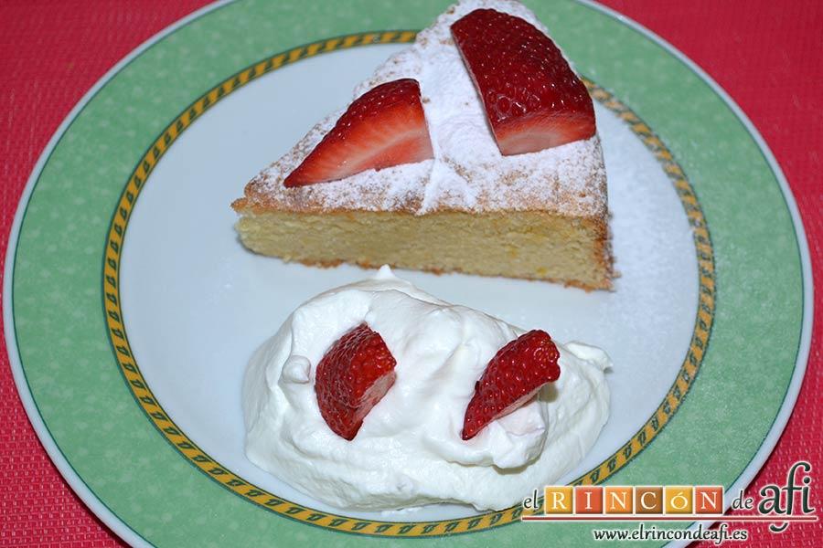 Gâteau de almendra