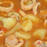 Marmitako de calamares
