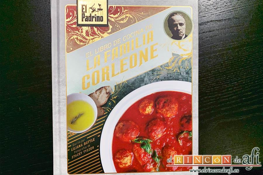 Sopa minestrone estilo El Padrino, libro El Padrino: libro de recetas de la familia Corleonne