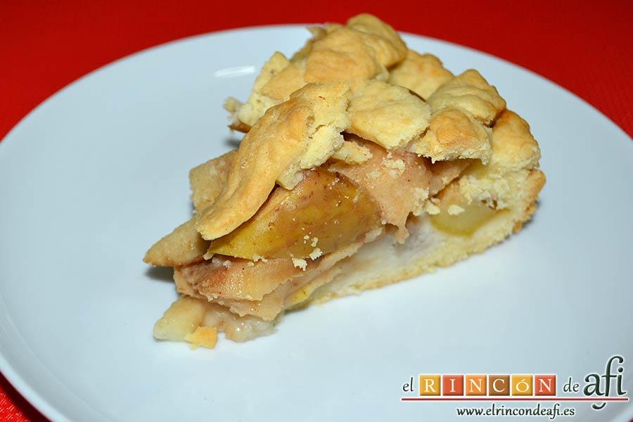 Kuchen de manzana, sugerencia de presentación