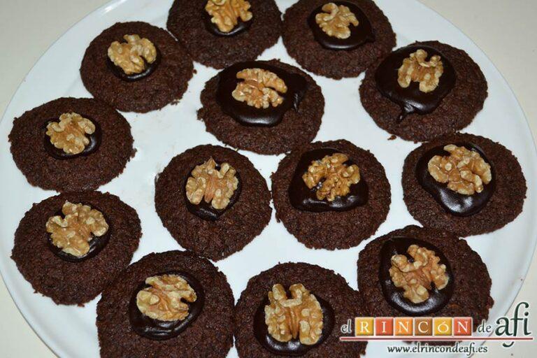 Biscuits afganos o Afghan biscuits,