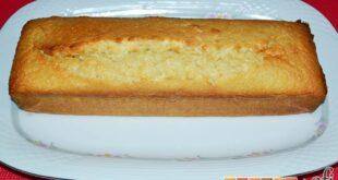 Pastel de coco con un toque de limón